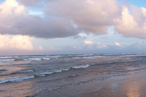 beach in south padre
