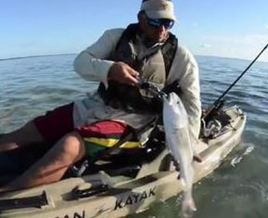 fishing on kayaks in south padre