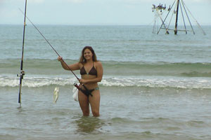 surf fishing south padre